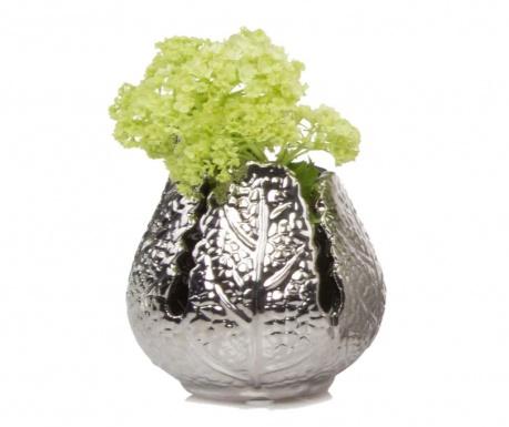Vaza Leaf Silver