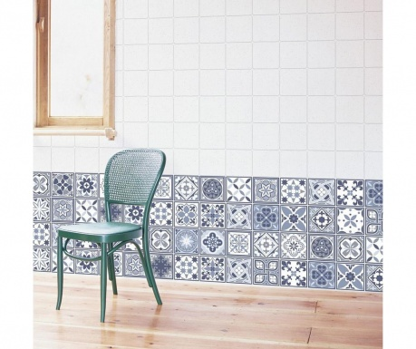 Lisbon Blue Wall 24 db Matrica