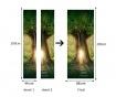 Naljepnica za vrata Fantasy Tree