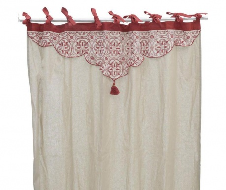 Draperie Edith Red 140x250 cm