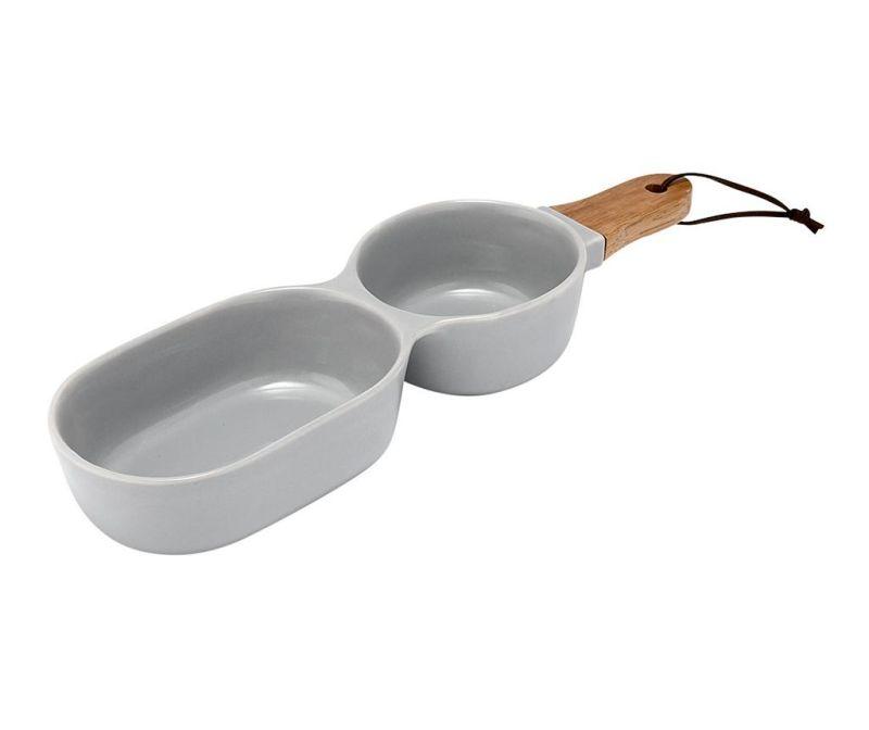Miseczka do przekąsek Classic Serve Two Grey