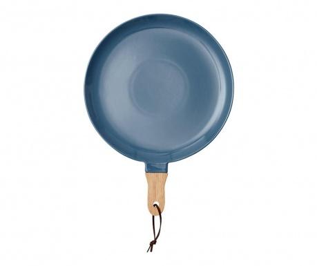 Servirni krožnik Classic Dusky Blue