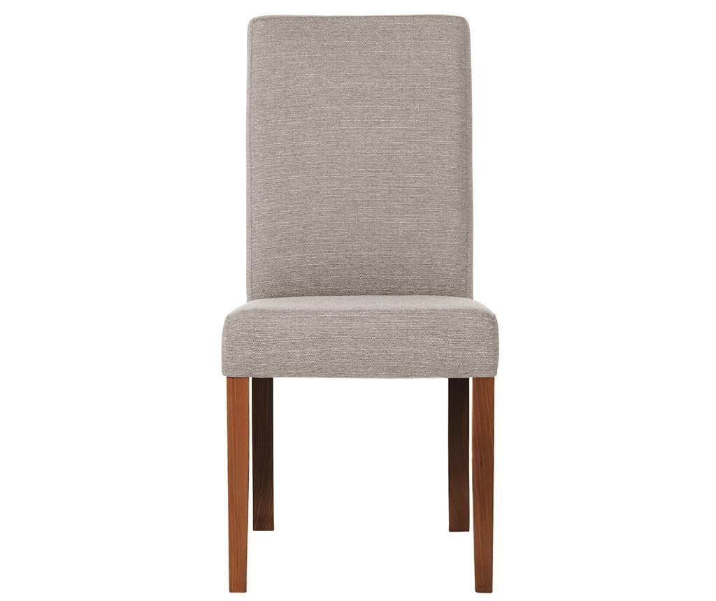 Set 4 scaune Tonka Brown Taupe
