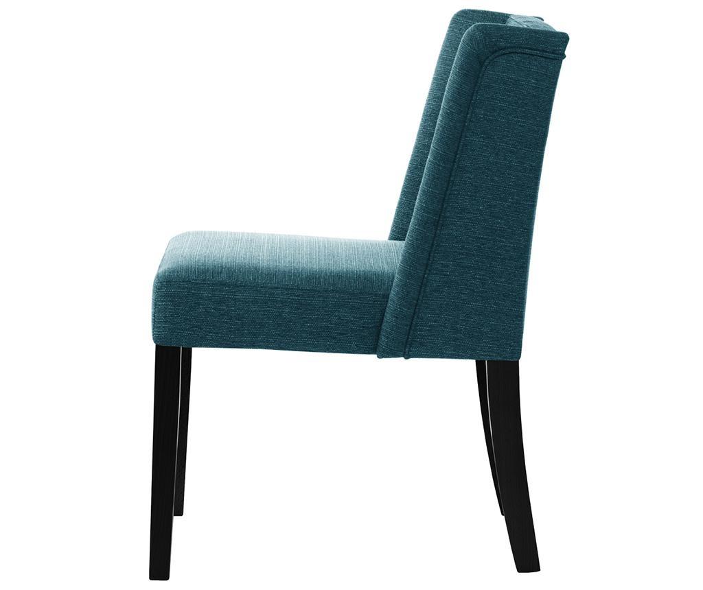 Комплект 2 стола Zeste Turquoise Noir