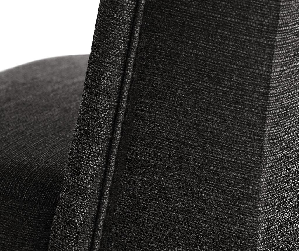 Комплект 2 стола Zeste Anthracite Noir