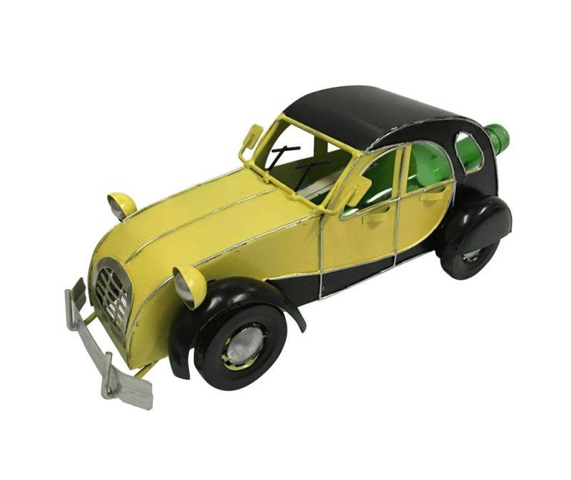 Držalo za steklenice Premium Vintage Car Yellow Black