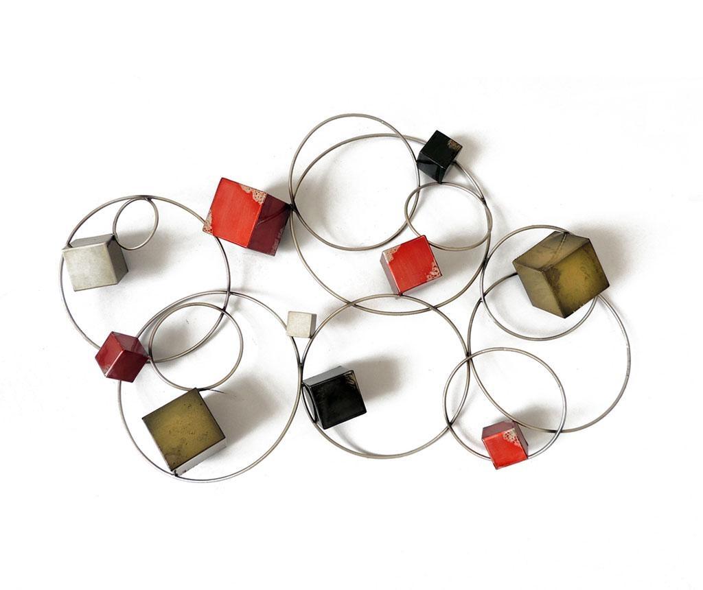 Zidni ukras Beaux Arts Cubes and Circles