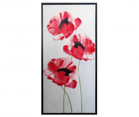 Slika Gallery Poppies 50x100 cm