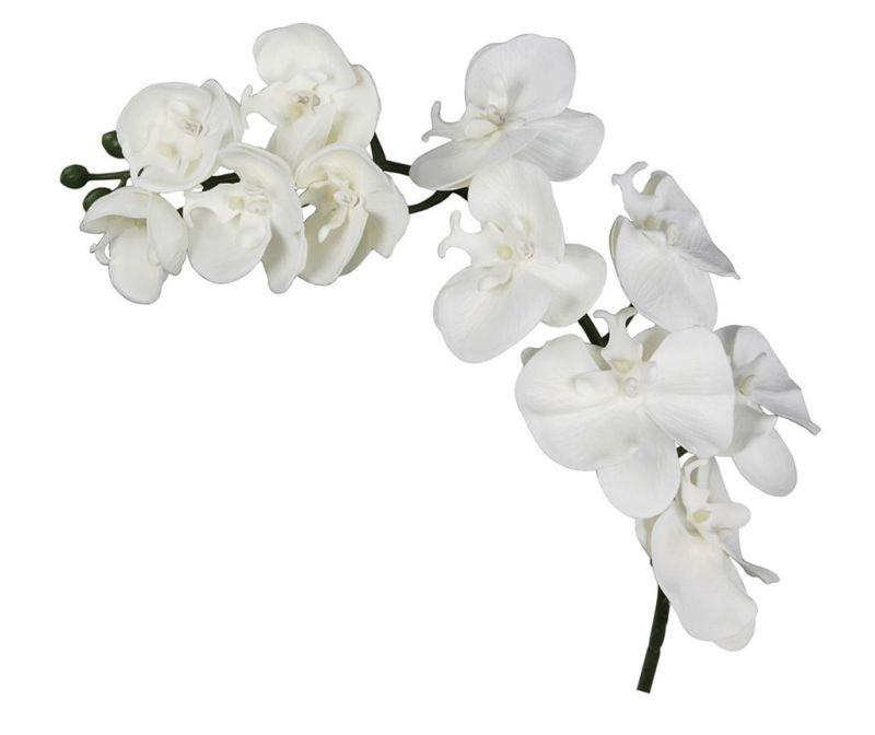 Umělá květina Orchid White
