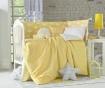 Zaščita za otroško posteljico Clouds Yellow 40x210 cm