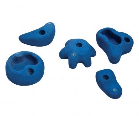 Dječji set 5 kamena za penjanje Medium Ascent Blue