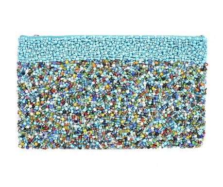 Listová kabelka Multi Turquoise