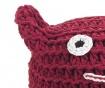 Cat Red Puff
