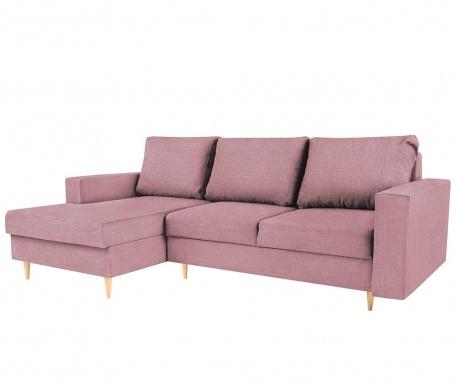 Coltar extensibil stanga Iris Pink