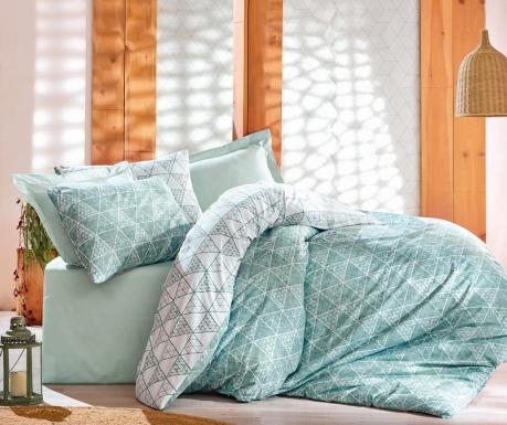 Спално бельо Single Ranforce Sole Mint