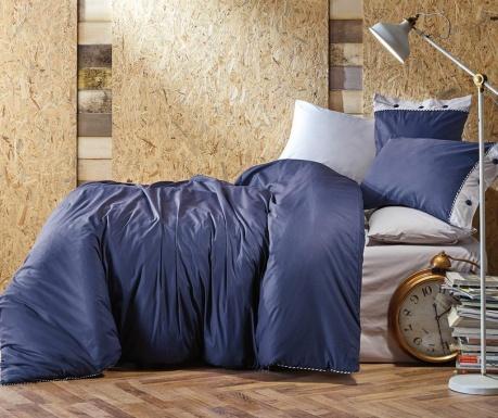 Спално бельо Single Ranforce Plain Line Purple