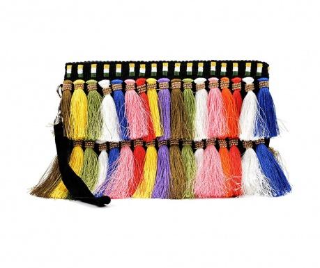 Clutch torbica Tassles Multicolor