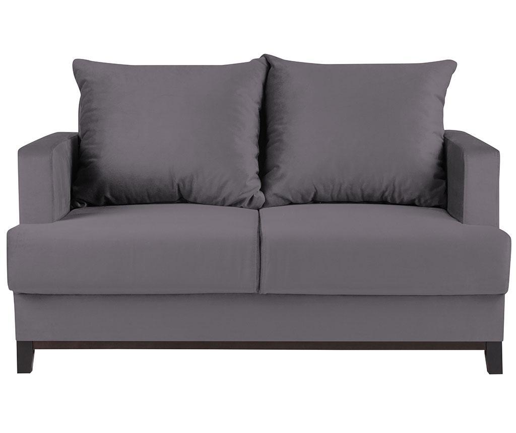 Canapea 2 locuri Frederic Graphite
