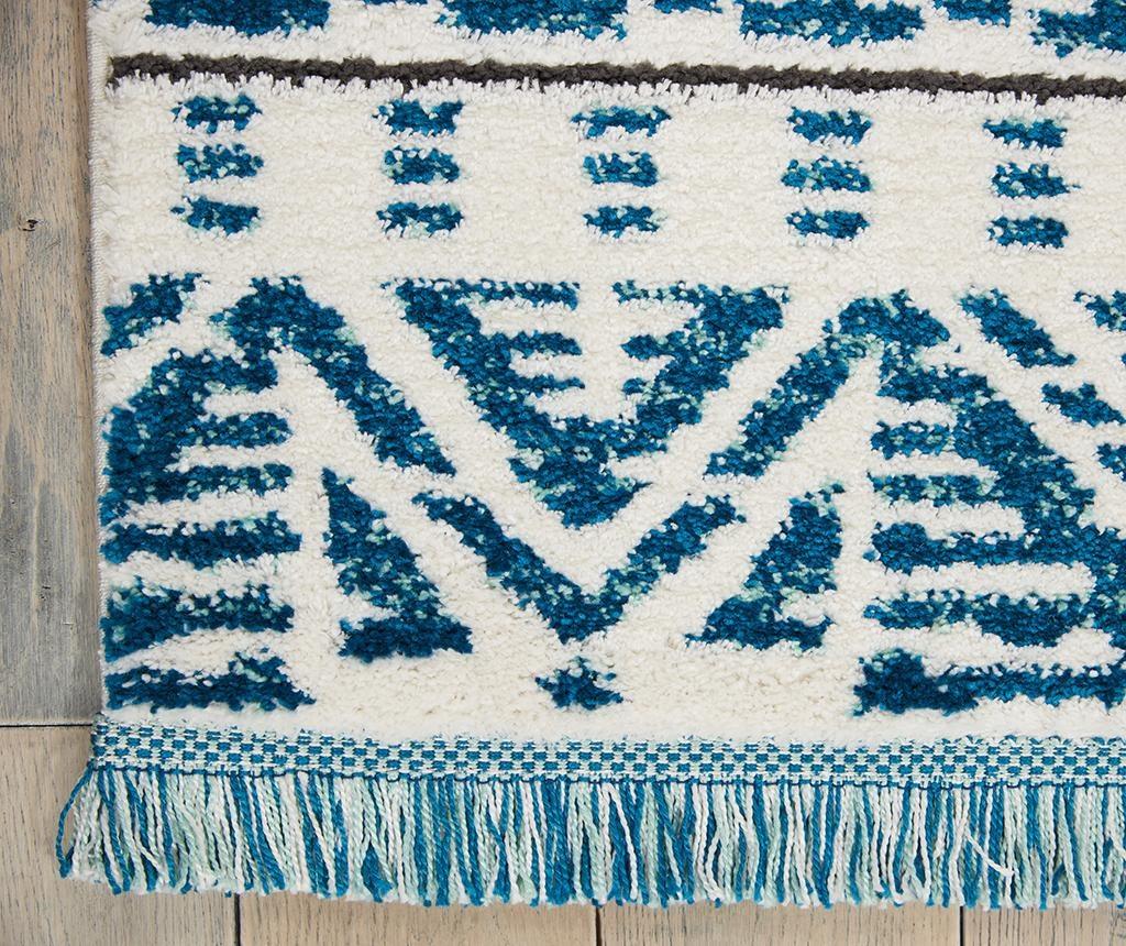 Covor Kamala Ivory Blue 160x221 cm
