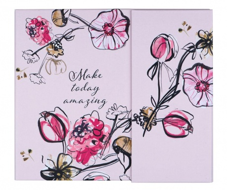 Tedenski organizator Make Today Amazing Floral