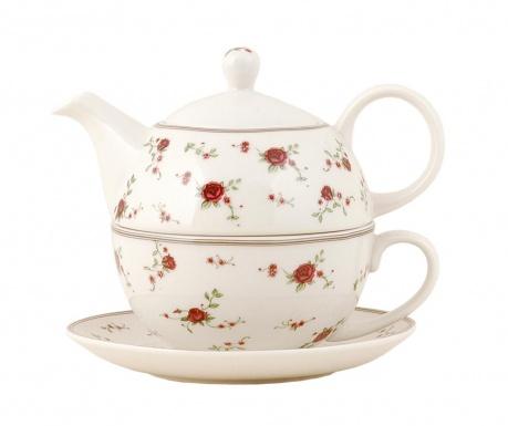 Sada čajník se šálkem a podšálkem Akua
