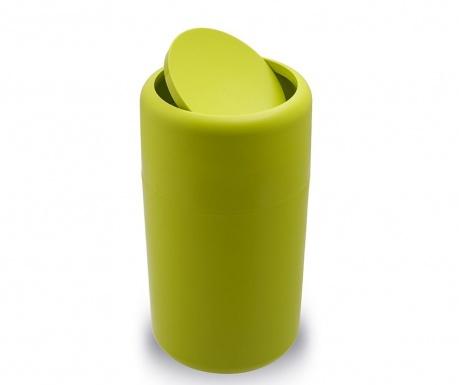 Cos de gunoi cu capac Flip Green 14 L