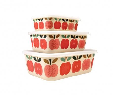 Sada 3 dóz Vintage Apple