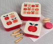 Set 3 caserole Vintage Apple