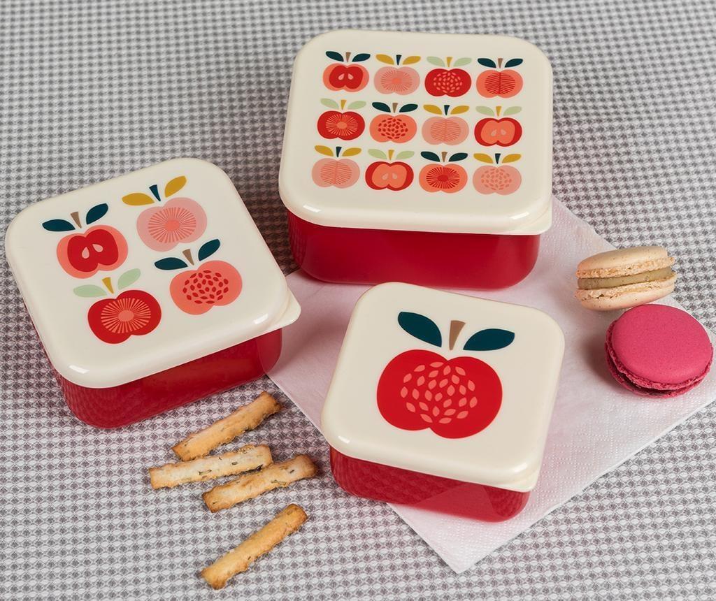 Set 3 caserole Vintage Apple