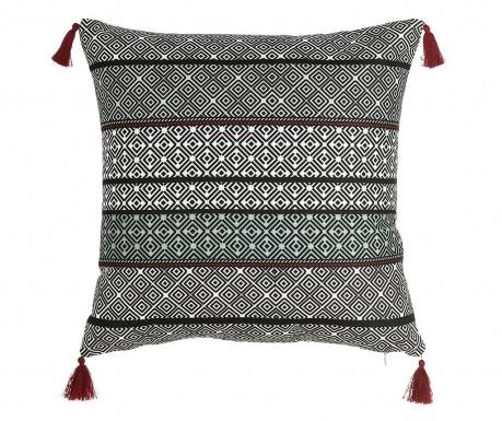 Διακοσμητικό μαξιλάρι Callista Black White 45x45 cm