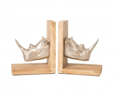 Set 2 suporturi pentru carti Rhino
