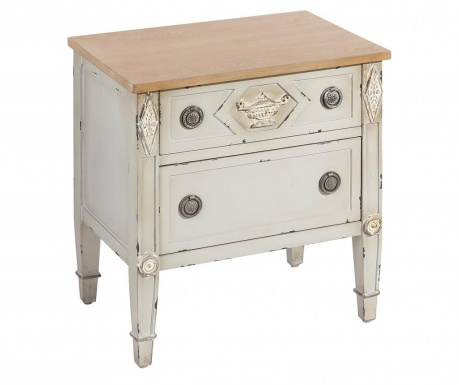 Stolik z 2 szufladami Orient