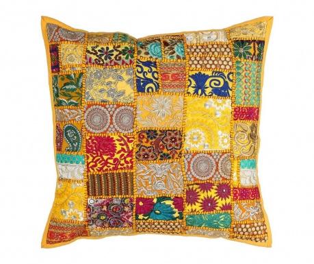 Dekorační polštář Ethnic Yellow 60x60 cm
