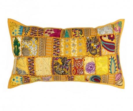 Poduszka dekoracyjna Ethnic Yellow 35x60 cm