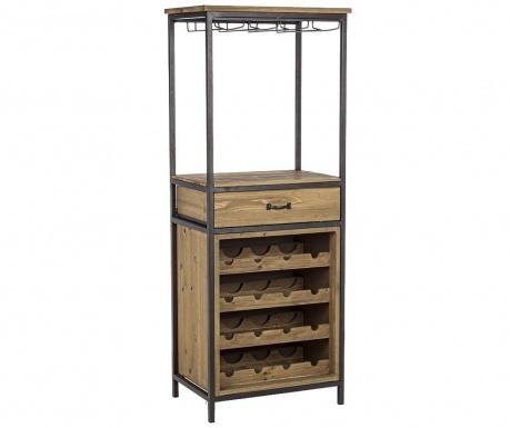Keller Cabinet Szekrényke palackoknak és poharaknak