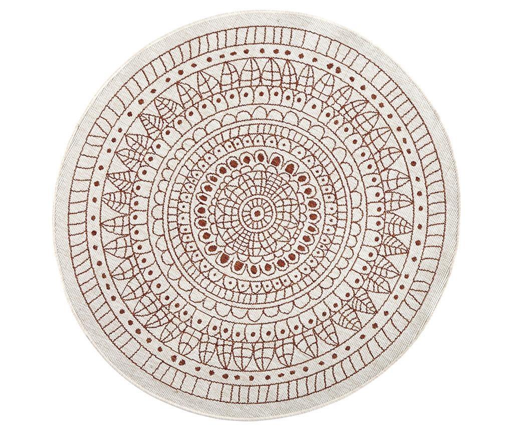 Zunanja preproga Reversible Twin Mandala Terra 140 cm
