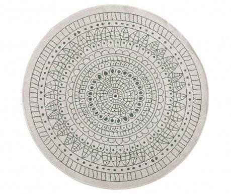 Venkovní koberec Reversible Twin Mandala Green