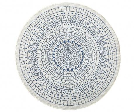 Venkovní koberec Reversible Twin Mandala Blue