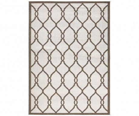 Venkovní koberec Reversible Twin Infinity Brown