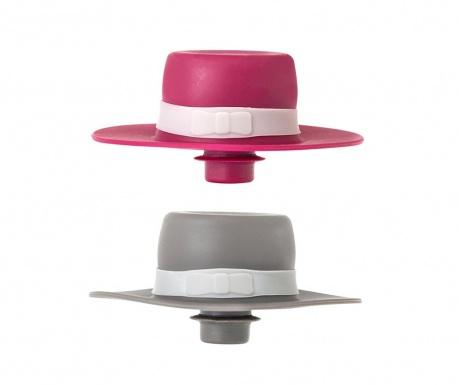 Σετ 2 πώματα για μπουκάλια Dolls Flamenco Hat