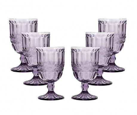 Sara Purple 6 db Talpas pohár 270 ml