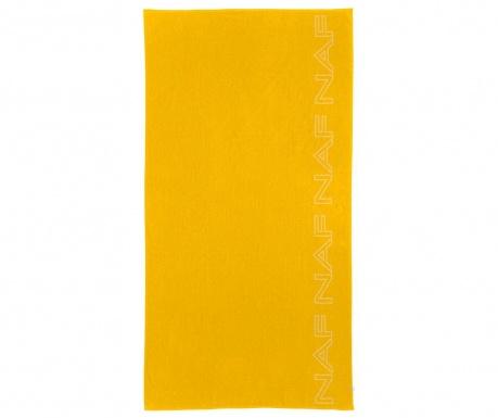 Плажна кърпа Casual Yellow 90x180 см
