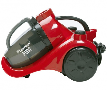 Vysávač bez vrecka Turbine Puro Red & Black