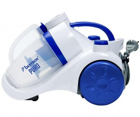 Turbine Puro White & Blue Porzsák nélküli porszívó