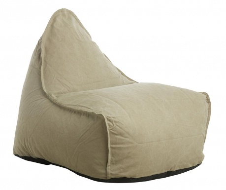 Sedací puf Canvas Chill Beige