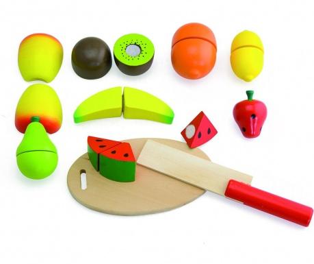 Zestaw zabawkowych owoców 10 elementów Meal Fruits