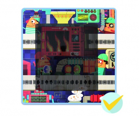 Gra typu puzzle 35 elementów Dream Factory