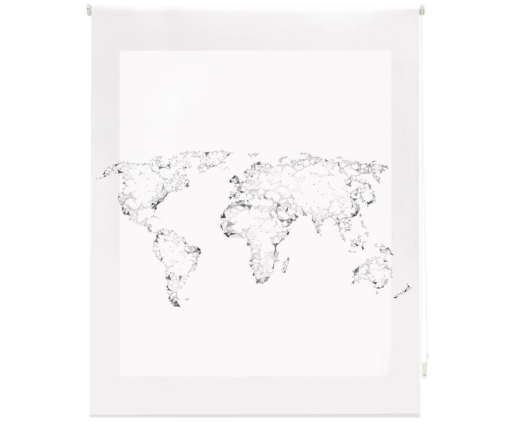 World Map Roletta 100x250 cm