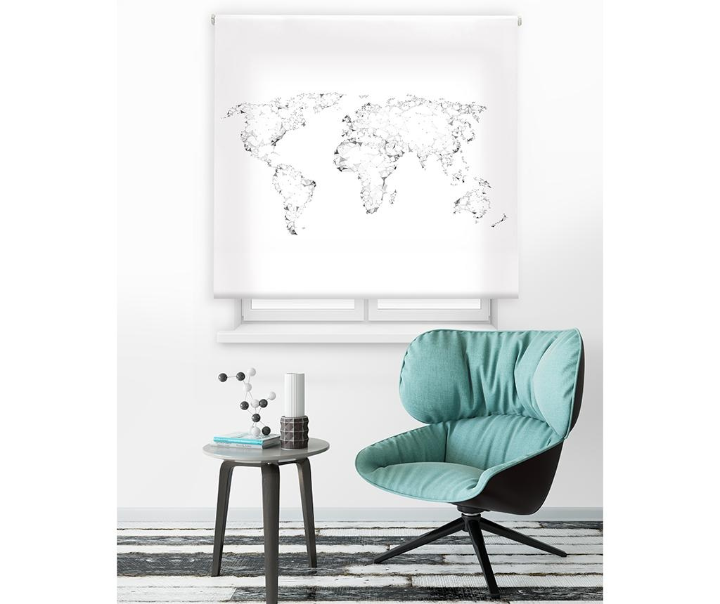 World Map Roletta 120x250 cm