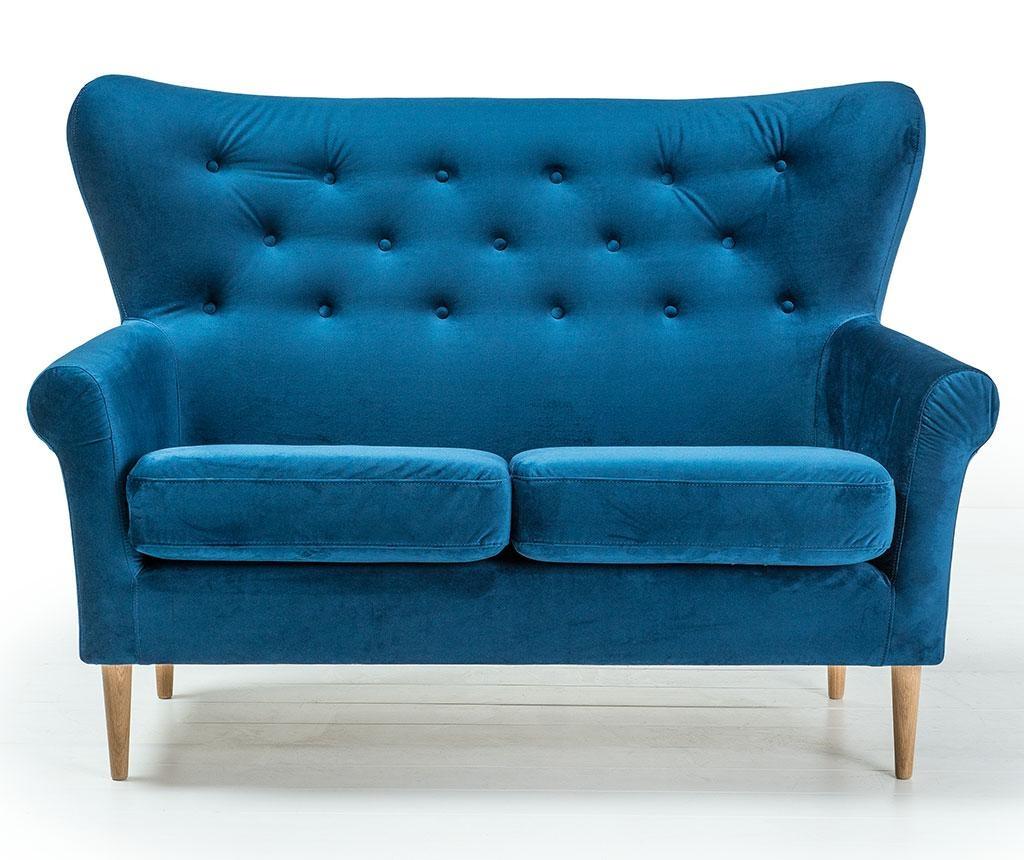 Amelie Navy Blue Kétszemélyes kanapé
